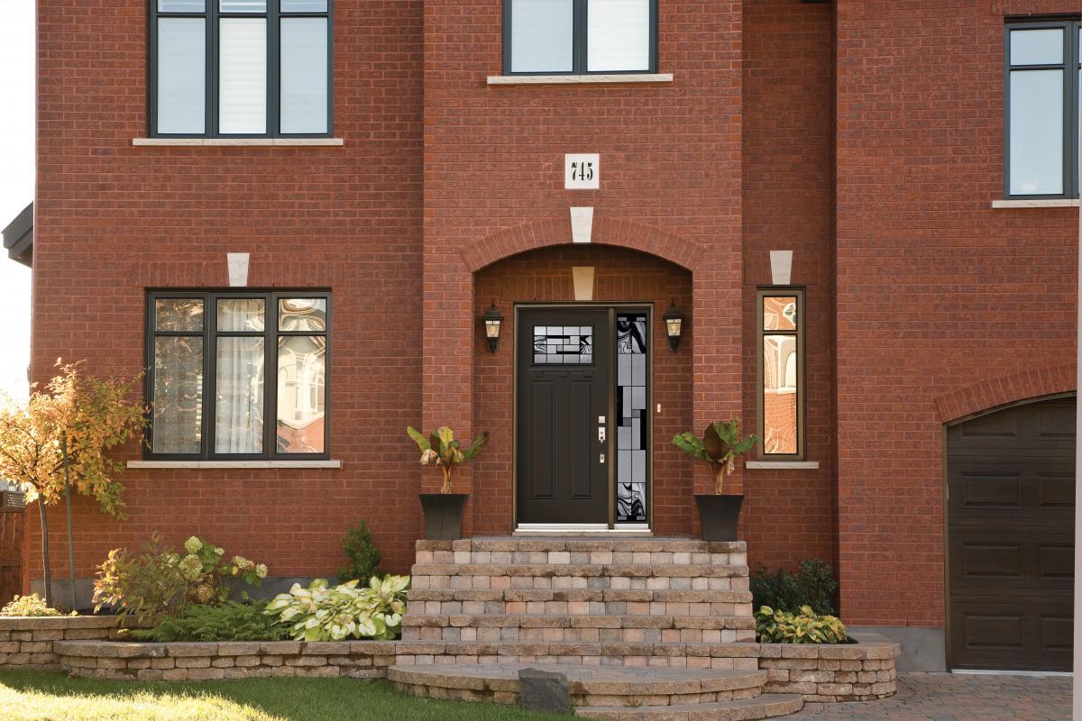 Elegant Steel & Fiberglass Entry doors